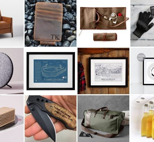 24 Creative Gifts for Him (that he will love)