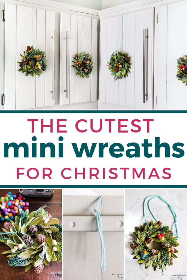 The Cutest Mini Wreaths For Christmas Kaleidoscope Living