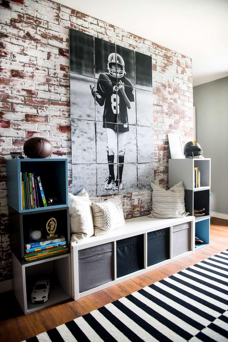 cool IKEA boy's room
