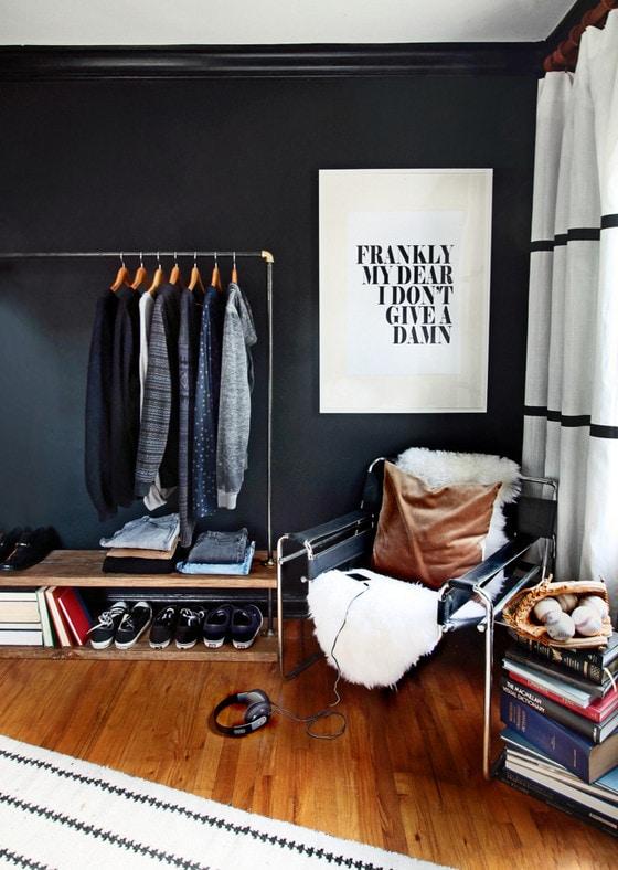 dark and moody teen boy room
