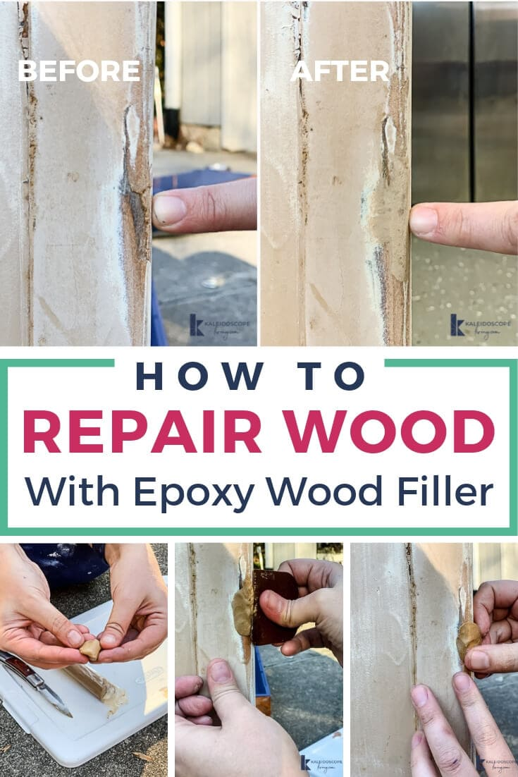 how to repair wood with epoxy filler