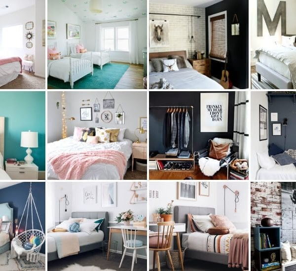 16 Teen Bedroom Ideas for Boys + Girls