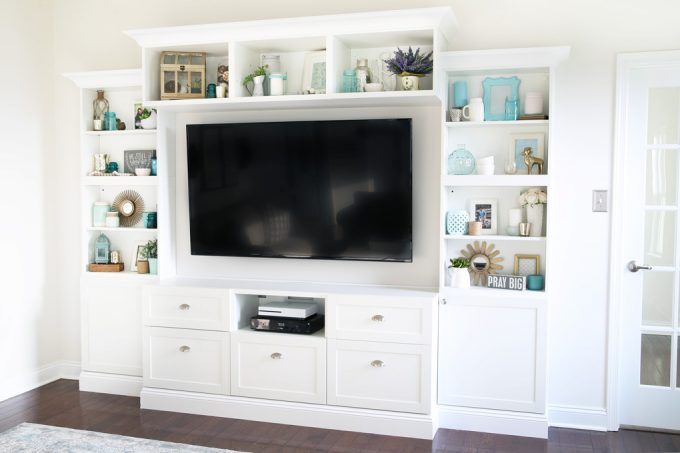 entertainment center built ins