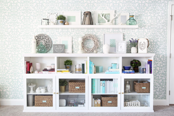 IKEA built ins with storage