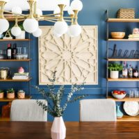 Our Navy Blue & Eclectic Dining Room Reveal