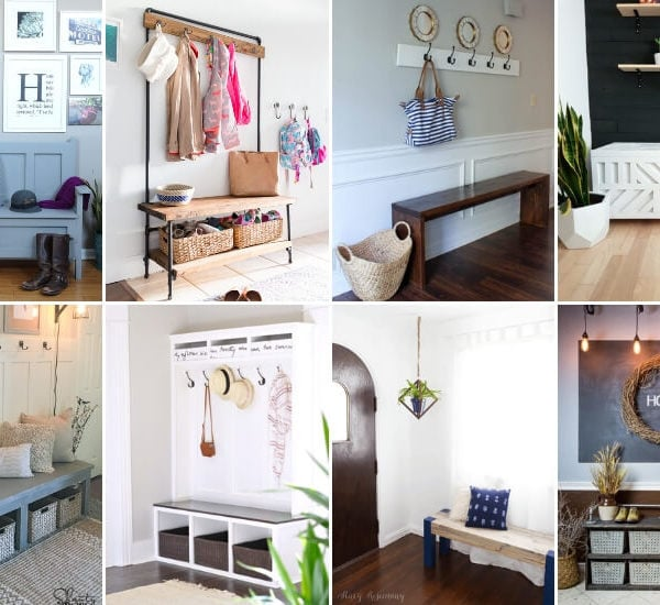 16 Ideas for the Perfect Entryway Storage Bench