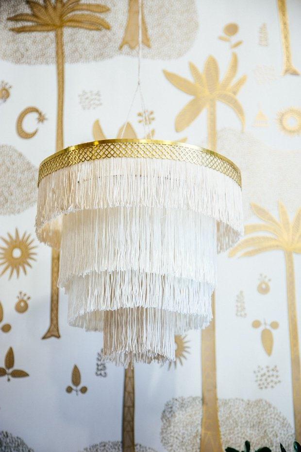 fringe chandelier