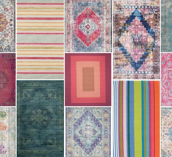 35 Colorful Area Rugs You Will Want to Decorate Around