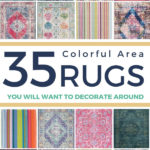 large colorful area rugs