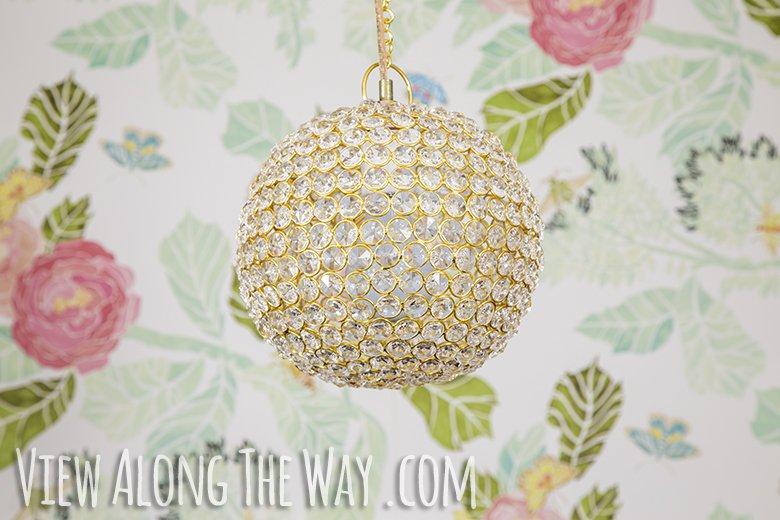 crystal ball pendant