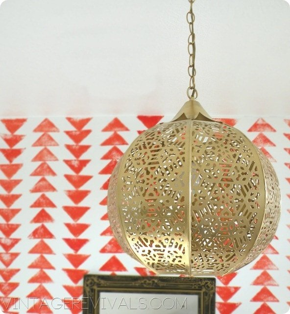 cutout lantern chandelier