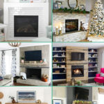 DIY fireplace makeovers