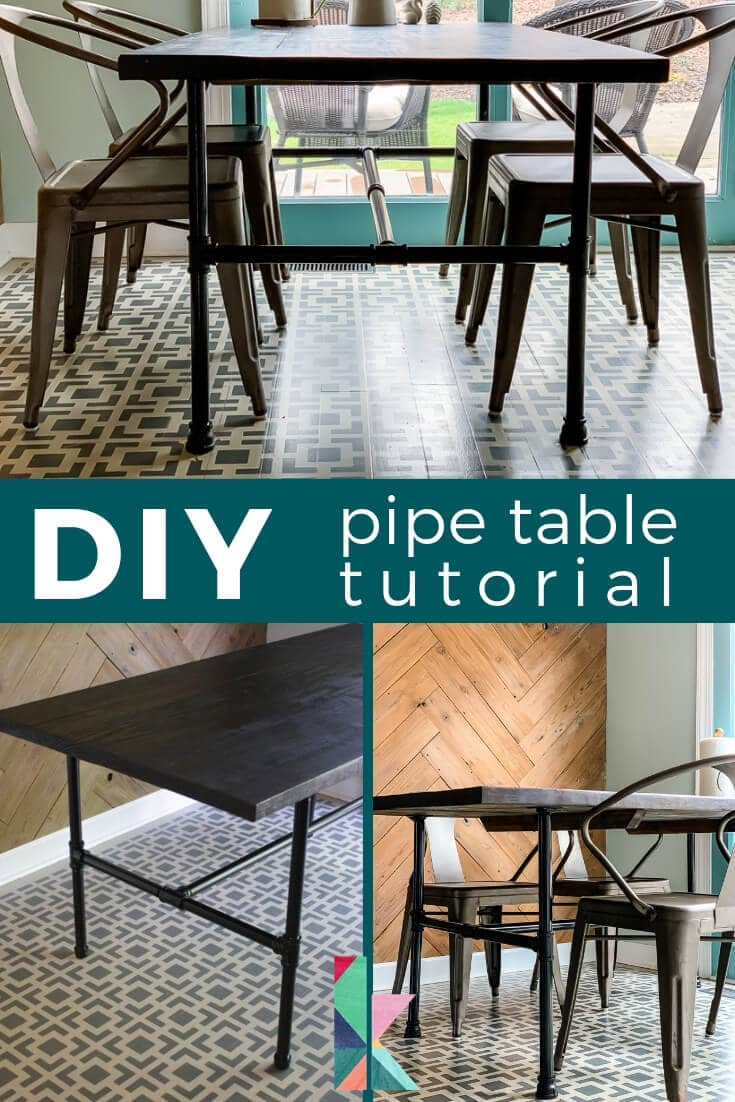 DIY pipe table tutorial