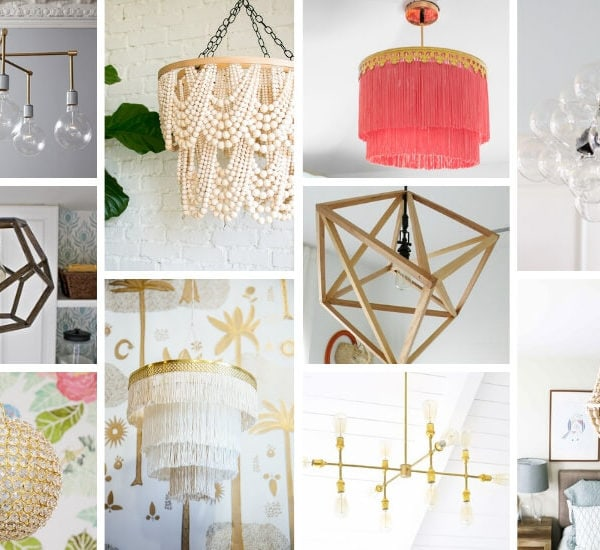 20 DIY Chandeliers That Will Blow Your Mind (but not your budget!)
