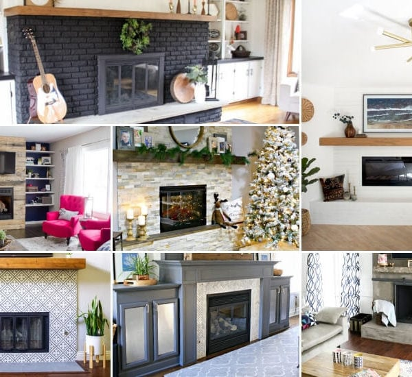 17 DIY Fireplace Ideas to Inspire You