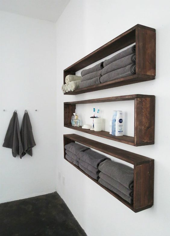 floating box shelves