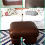 Restoring leather furniture