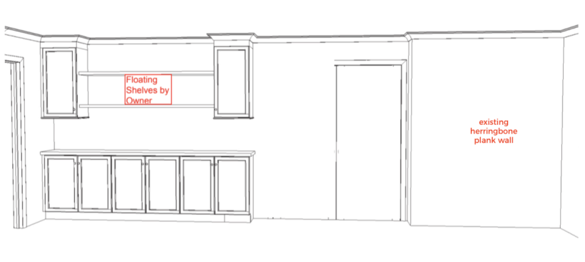13' x 20' kitchen renovation plans