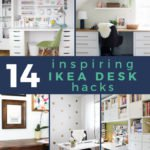 14 ikea desk hacks