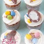 Easter carrot cake cupcakes