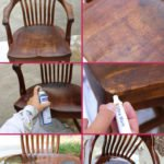 how to refinish wood chairs