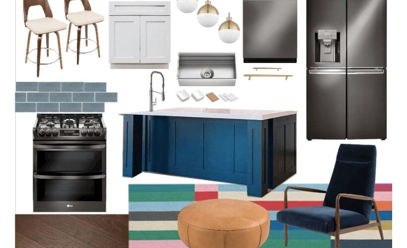 kitchen renovation mood board