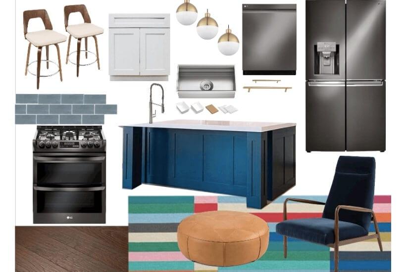 kitchen renovation mood board