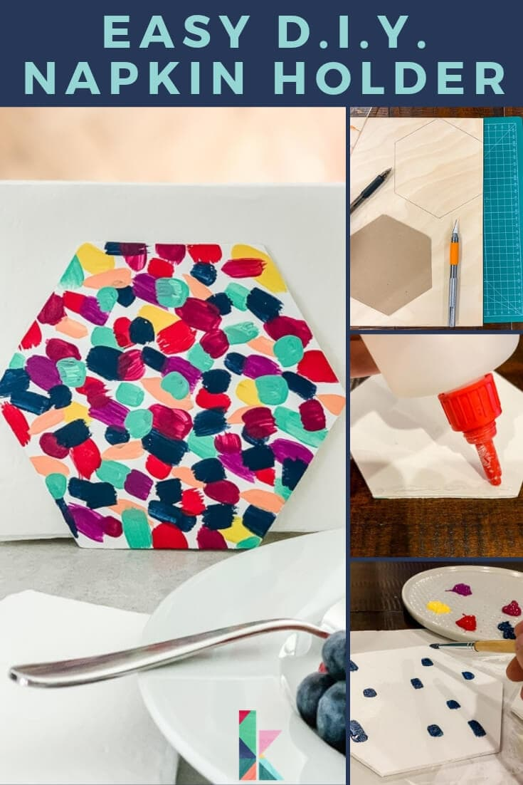 Easy Diy Napkin Holder Kaleidoscope Living