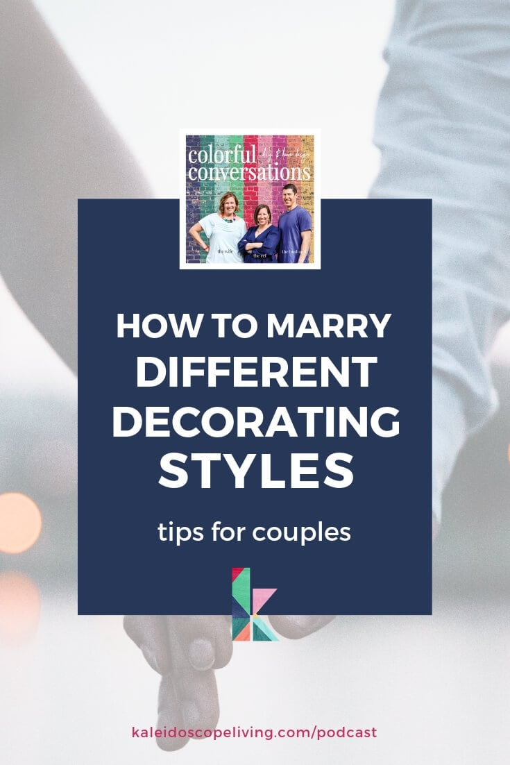 how to marry different decorating styles for couples