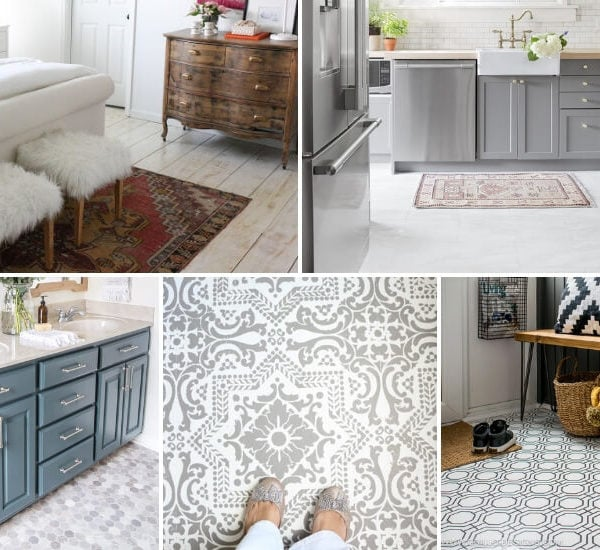 cheap flooring ideas photo collage