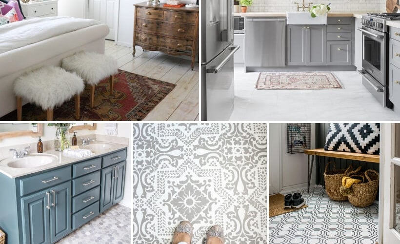 Gorgeous But Cheap Flooring Ideas | Kaleidoscope Living
