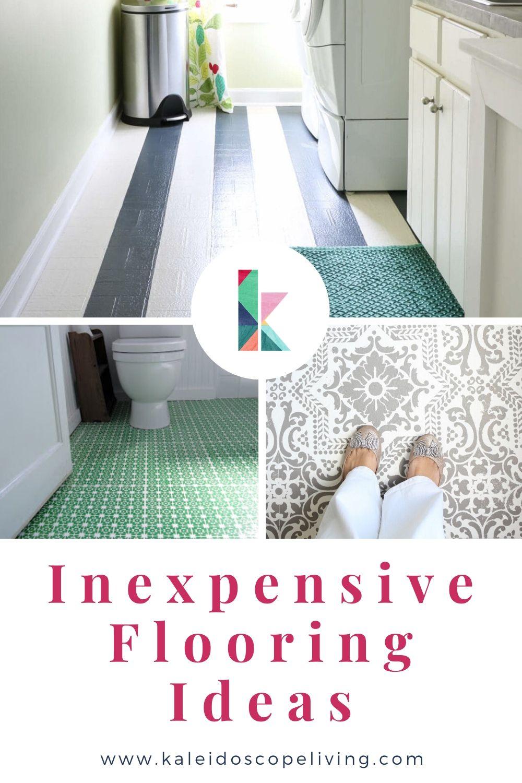 Gorgeous But Cheap Flooring Ideas  Kaleidoscope Living