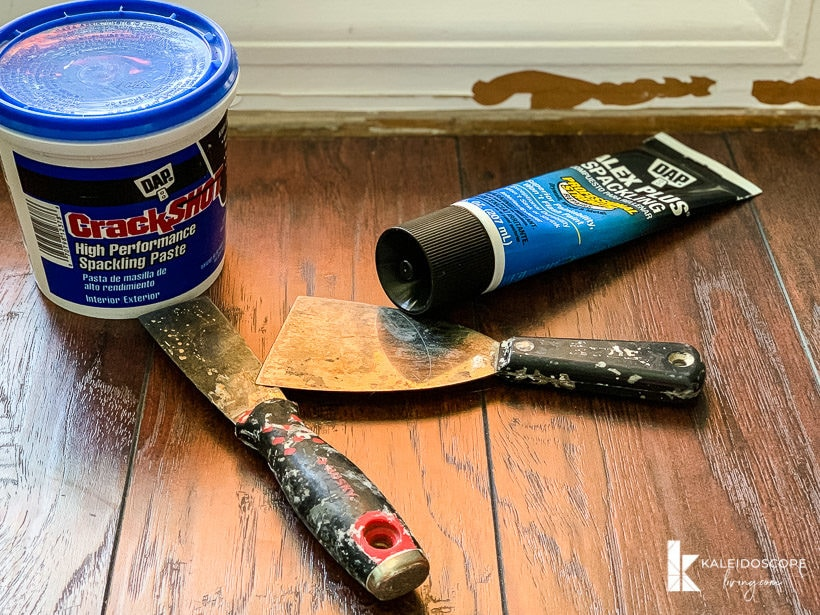 baseboard repair supplies