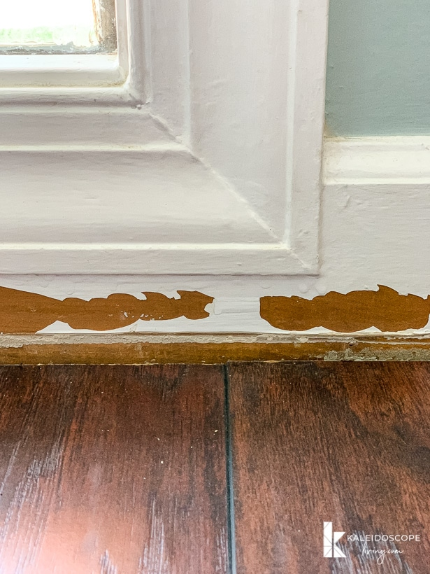 How To Repair Chipped Baseboards Kaleidoscope Living