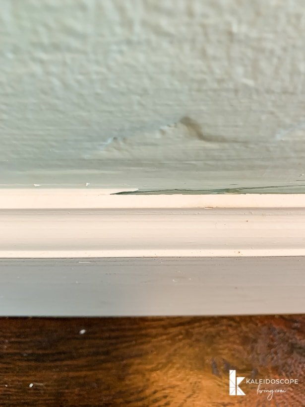 caulk vs. no caulk on baseboard trim
