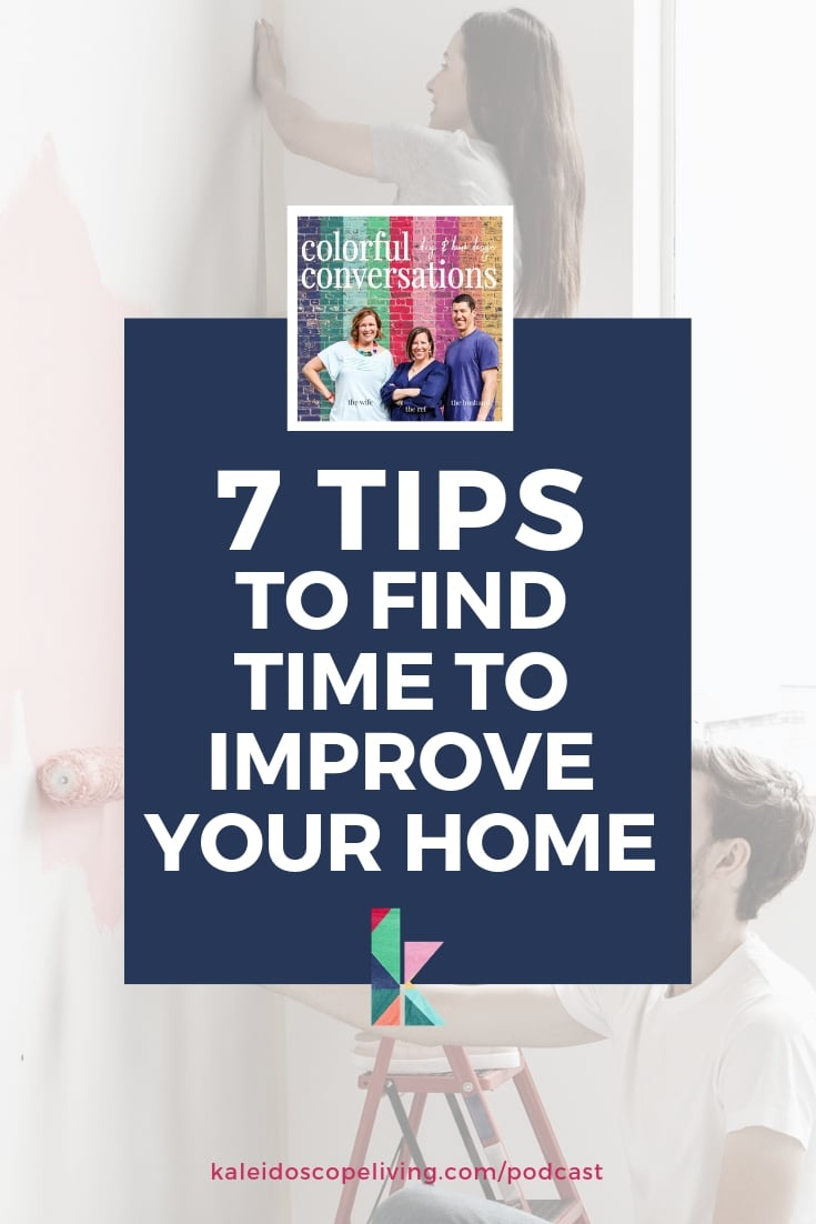 find time to improve your home