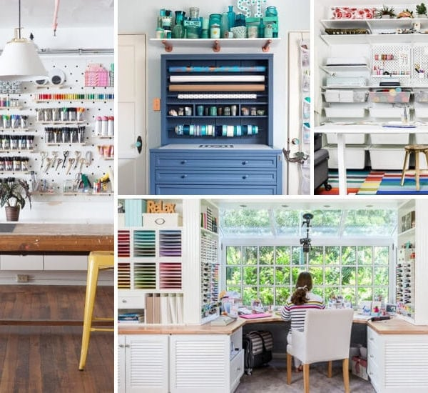 17 Amazing DIY Craft Room Ideas