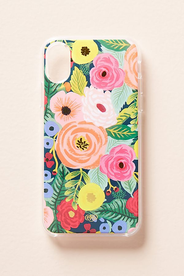 colorful floral phone case