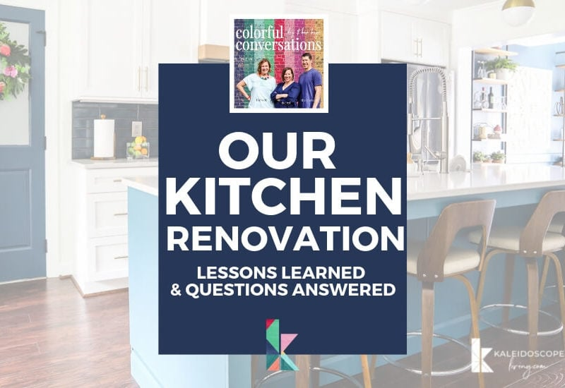 kitchen renovation lessons and regrets