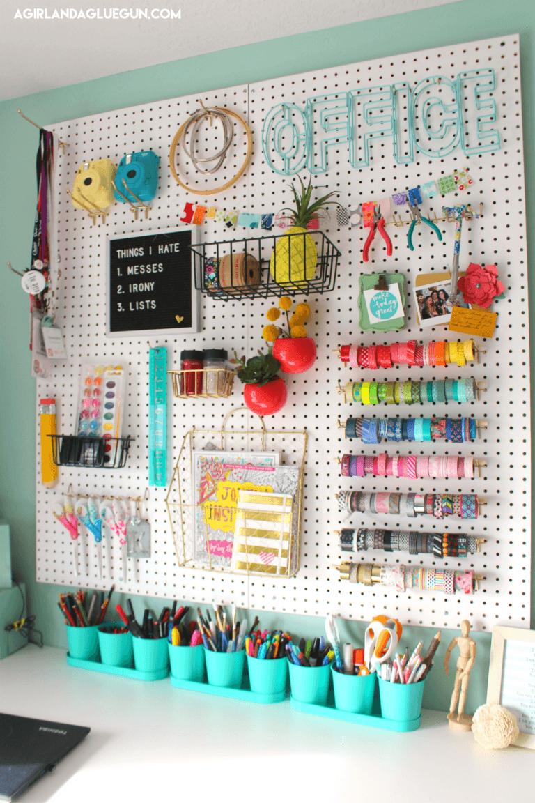 organized craft room