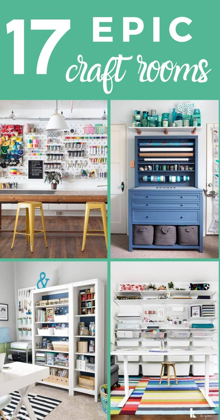 17 Amazing Diy Craft Room Ideas Kaleidoscope Living