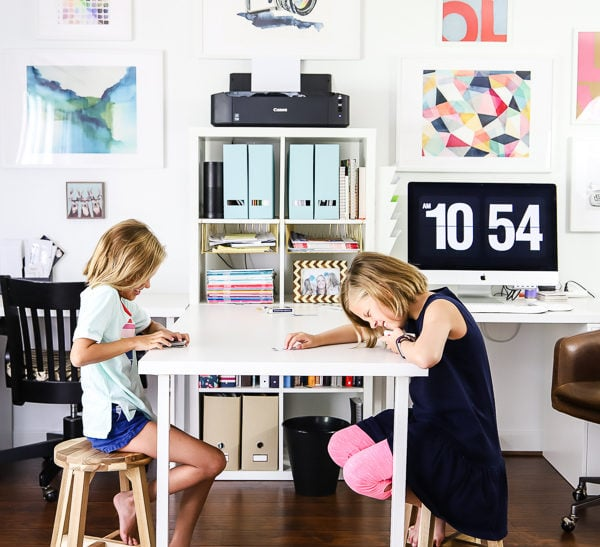 Home Office Makeover & Craft Room Reveal