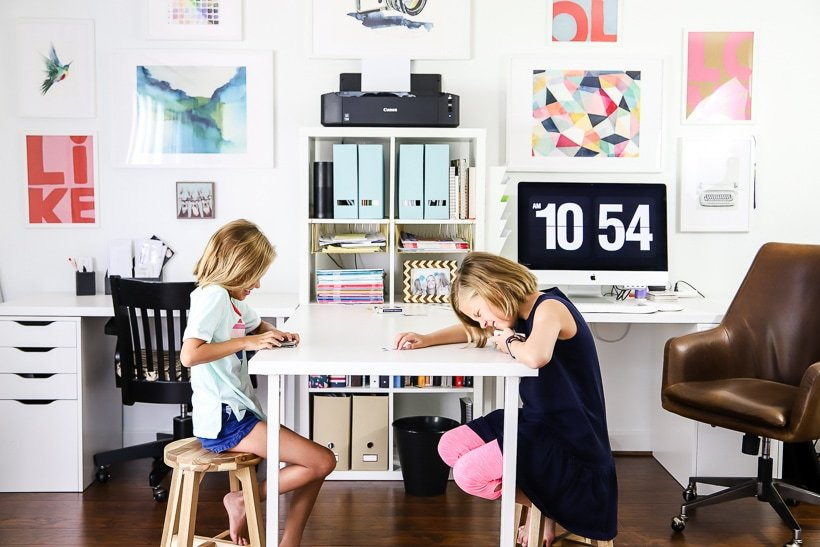 Home Office Makeover Craft Room