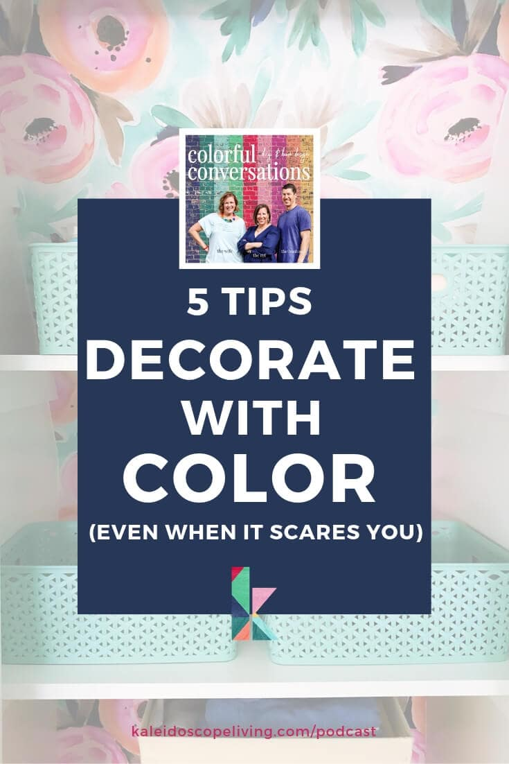 5 Tips to Decorate with Color