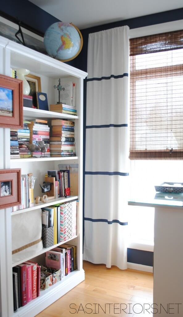simple striped curtains