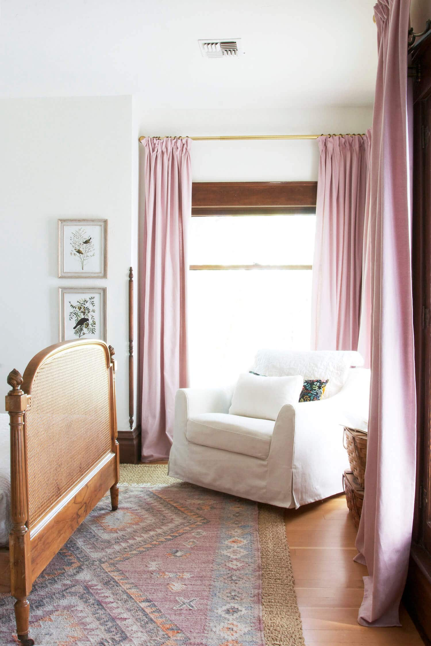 easy pinch pleat ikea curtains