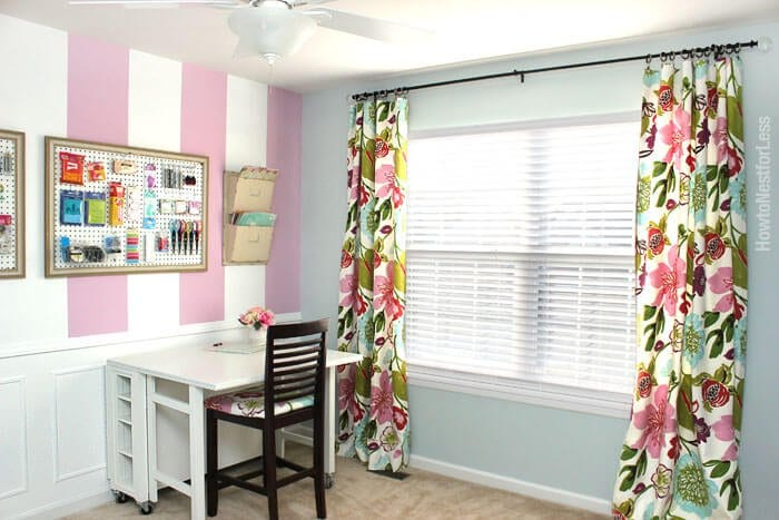 colorful no sew curtains