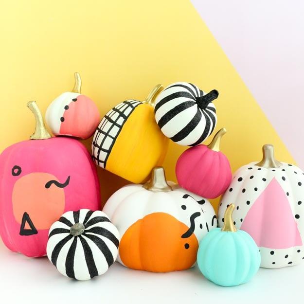 modern graphic pumpkins