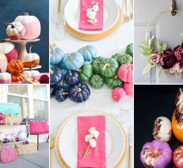 23 Colorful DIY Fall Decor Ideas
