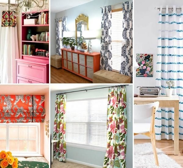 22 Amazing DIY Curtains That Look Expensive